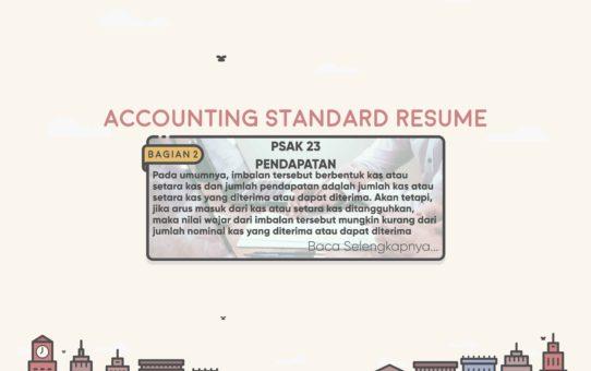 Accounting Standard Resume (PSAK 23 Bagian 2)