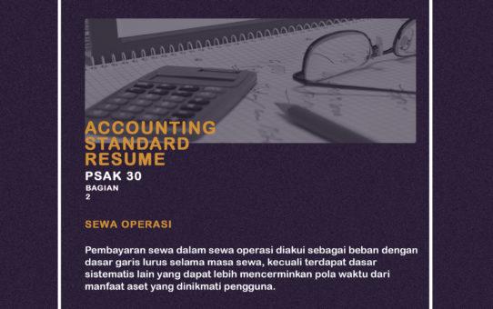 Accounting Standar Resume (PSAK 30 bagian 2)