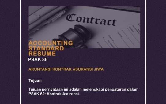 Accounting Standar Resume (PSAK 36)