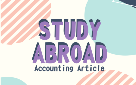 "Accounting Article ""Study Abroad"""