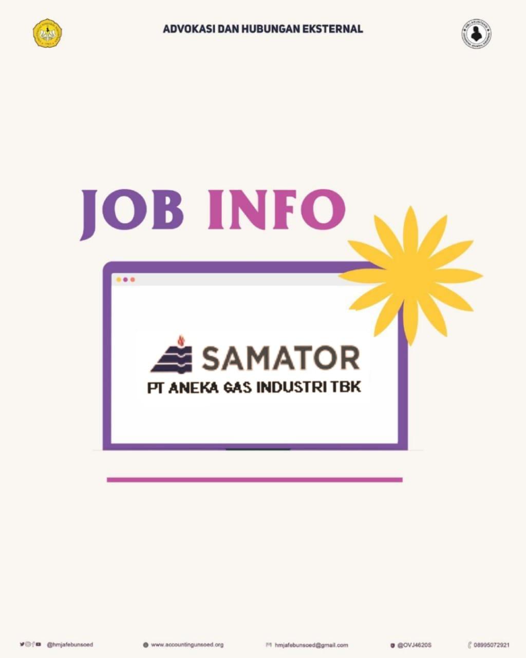 Samator (Job Info)