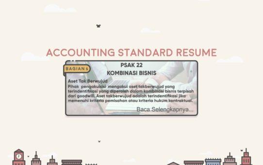 Accounting Standard Resume (PSAK 22 Bagian 6)