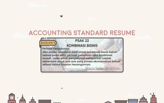 Accounting Standard Resume (PSAK 22 Bagian 9)