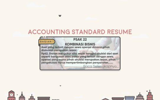 Accounting Standard Resume (PSAK 22 Bagian 8)