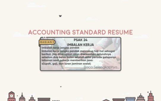 Accounting Standard Resume (PSAK 24 Bagian 2)