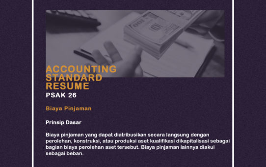Accounting Standar Resume (PSAK 26)