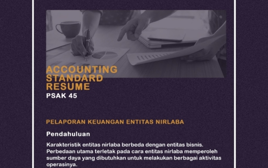 Accounting Standar Resume (PSAK 45)
