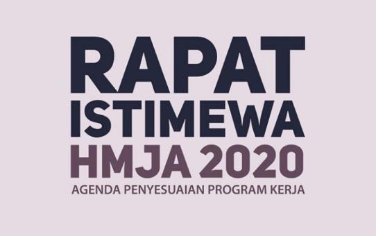 Rapat Istimewa HMJA 2020