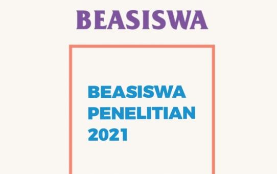 Beasiswa Penelitian 2021 (Info Beasiswa)