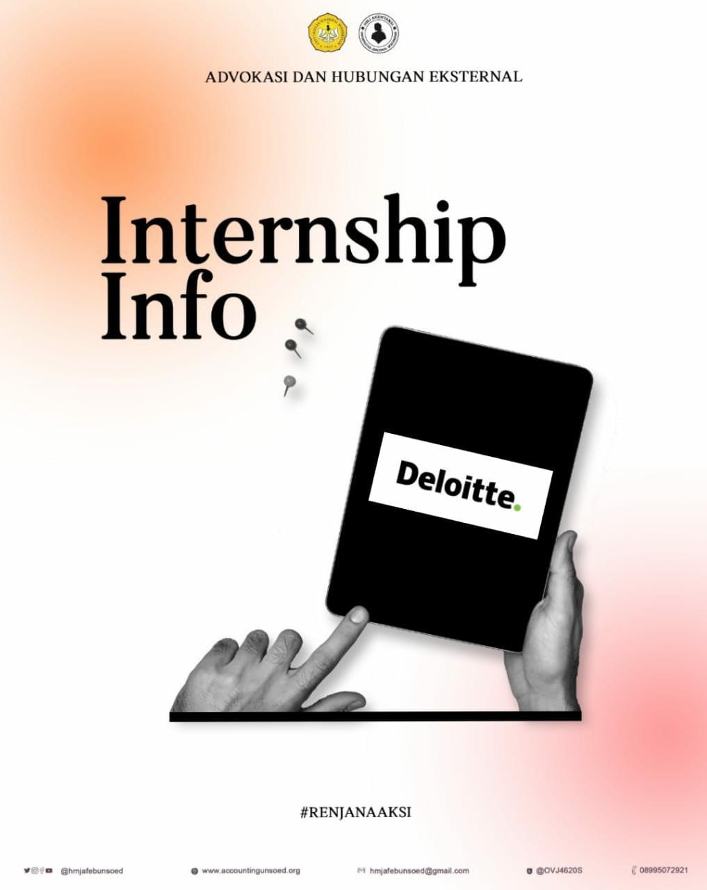 Deloitte (Info Magang)